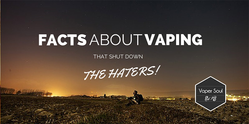 Facts About Vaping That Shut Down The Haters